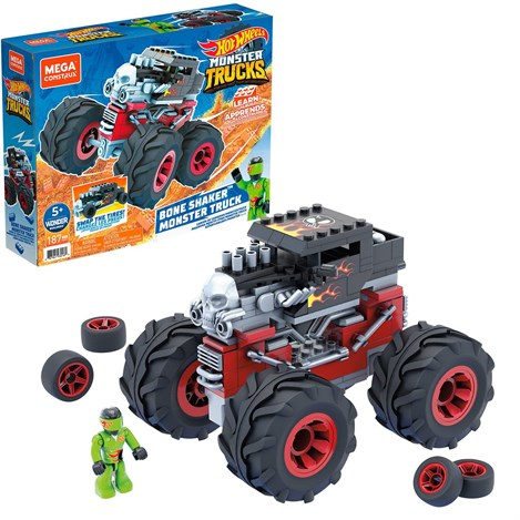 GVM14 Mega Monster Trucks Blok Araçlar / Mega Construx-Hot Wheels Serisi